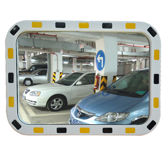 Rectangular Visibility Traffic Mirror
